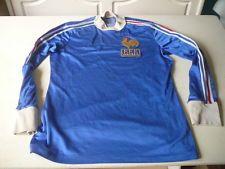maillot de football Equipe de France 1978 argentine adidas ventex 68cm x 50cm