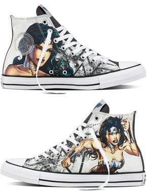 f14a092cc8d3 Wonder Woman Justice League Converse Chuck Taylor All Star