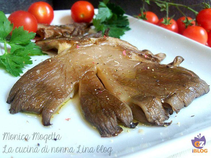 funghi alla piastra | La cucina di nonna Lina