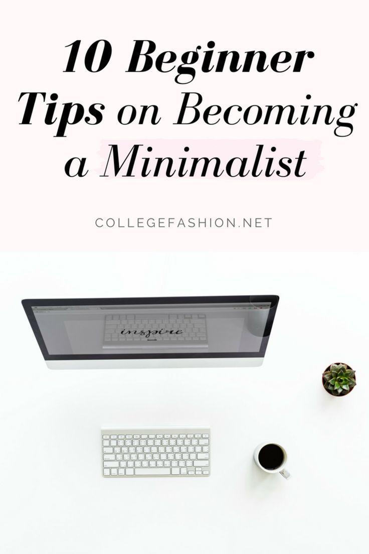 10 beginner tips on a minimalist