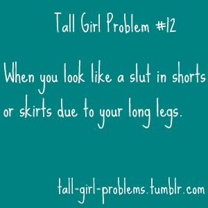 THIS IS SO TRUE THAT IT HURTS!!! Tall people problems -.-