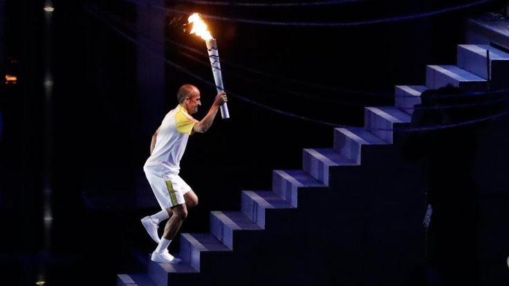 Vanderlei de Lima, who the lit Olympic cauldron to ignite the first Games in South America, is not a gold medalist. Nor a legendary Brazilian champion. Many at the Maracanã wouldn't have recognized him tonight if he handed them popcorn. But he was clearly the right man for the honor.
