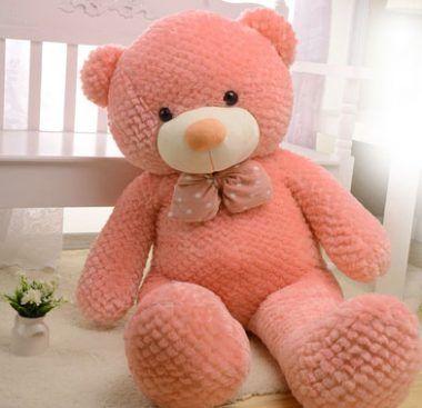 fotos de osos de peluche grandes rosado