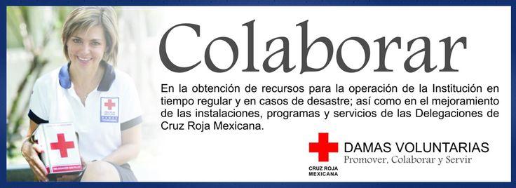 Resultado de imagen para damas cruz roja mexicana