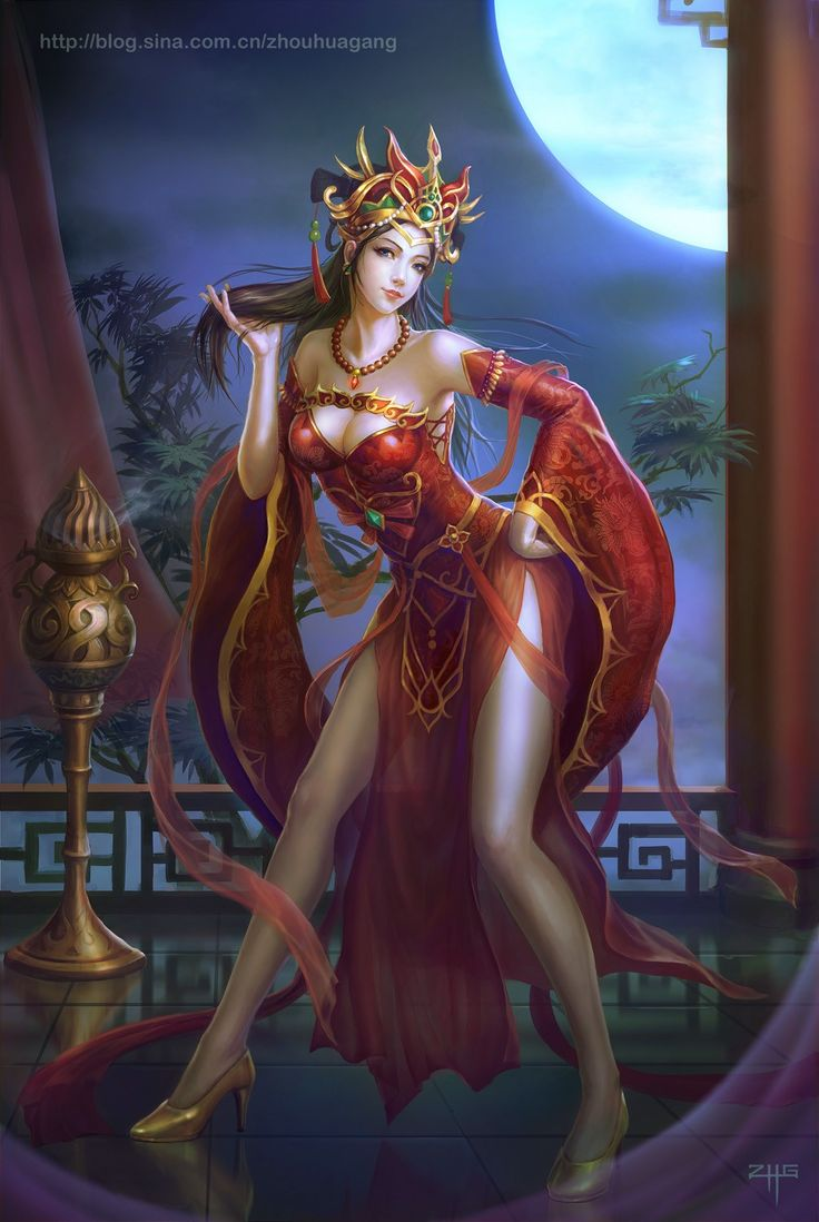 72 Best Images About Asian Fantasy Art On Pinterest Lady
