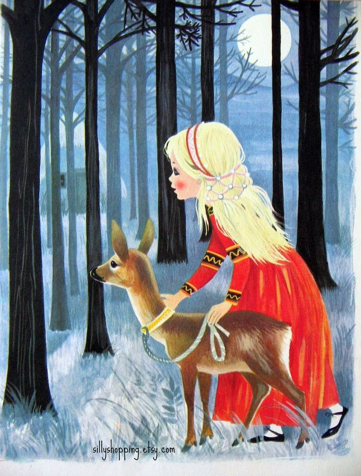 I love Vintage fairytale illustration and thought you should know! ;)