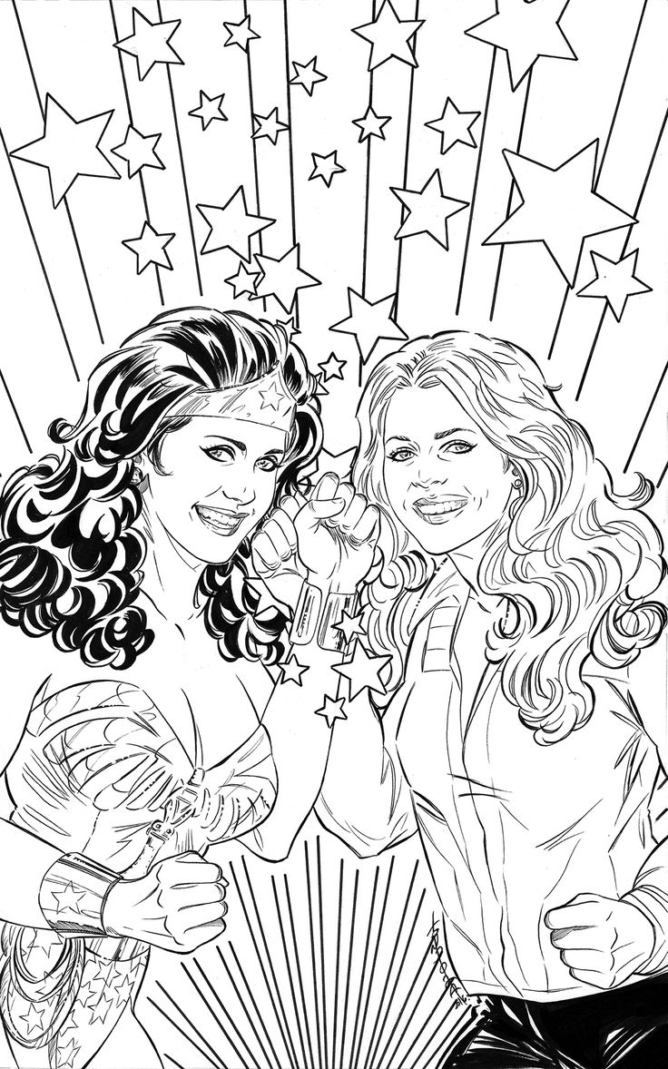 """Check out my @Behance project: """"Wonder Woman '77 Meets The Bionic Woman"""" https://www.behance.net/gallery/42827829/Wonder-Woman-77-Meets-The-Bionic-Woman"""