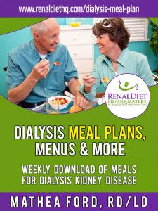 Preparing to change to a renal dialysis diet meal plan can be a difficult undertaking, whether you are the patient or the caregiver. Learn how we can help you with this task.