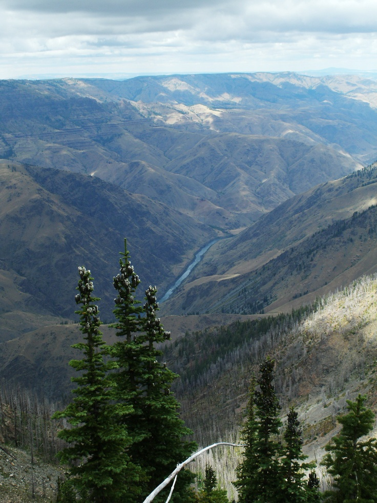 Hells Canyon is the deepest canyon in North America