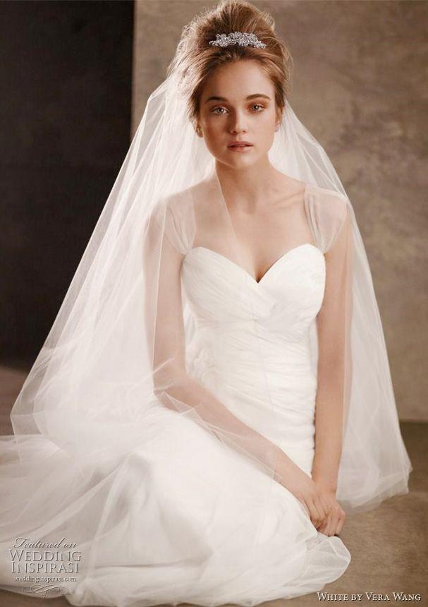 Unique Vera Wang White Wedding Dresses