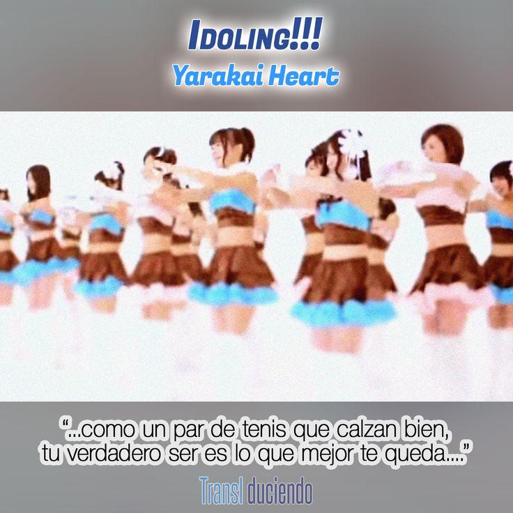 Canción traducida: #Idoling - #YarakaiHeart | #JPop #JMusic Encuéntrala completa en http://transl-duciendo.blogspot.com.au/2015/09/idoling-yarakai-heart-corazon-tierno.html