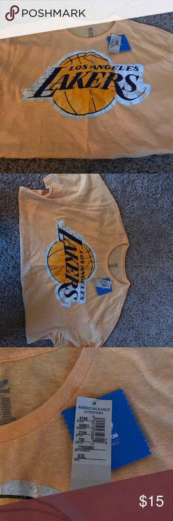 Los Angeles Lakers T shirt Adidas Los Angeles Lakers Shirt Adidas Shirts Tees - Short Sleeve