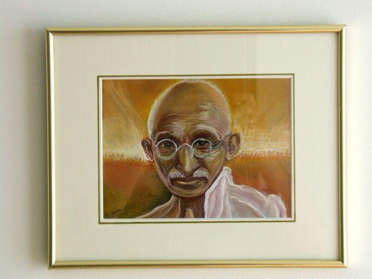 Portrait du Mahatma Gandhi