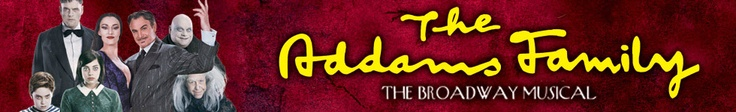 The Addams Family Broadway Musical at the Pantages Theatre in Hollywood in June!