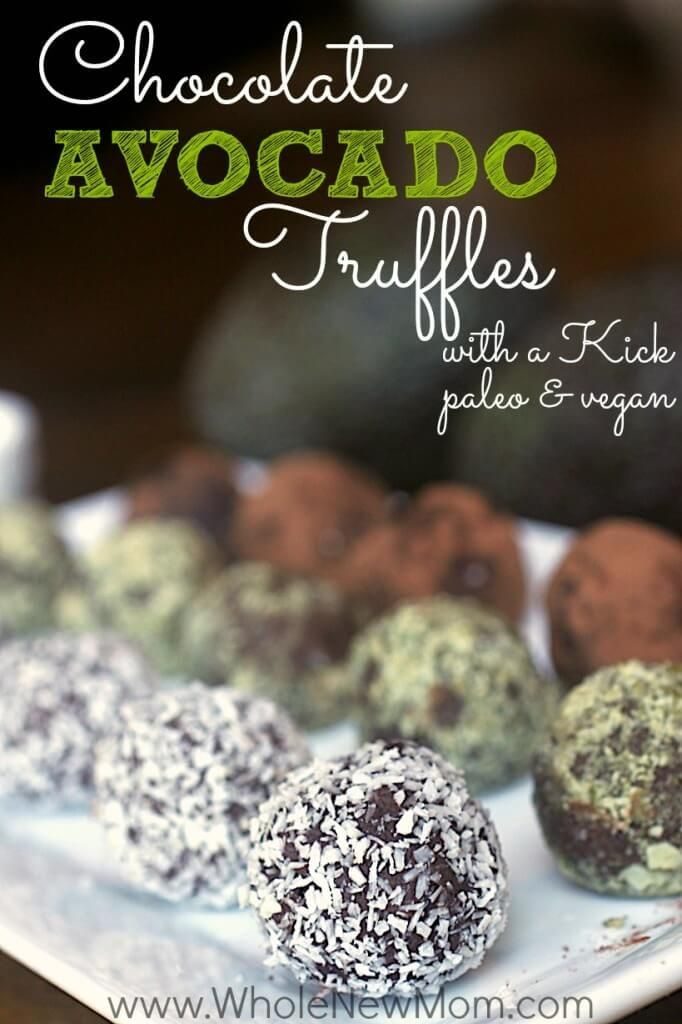 Low carb paleo Chocolate Truffle Recipe - healthy ingredients like avocado; sugar free and dairy free too. They come together in a flash and are decadent enough for gift giving (if you don't eat them all yourself!)