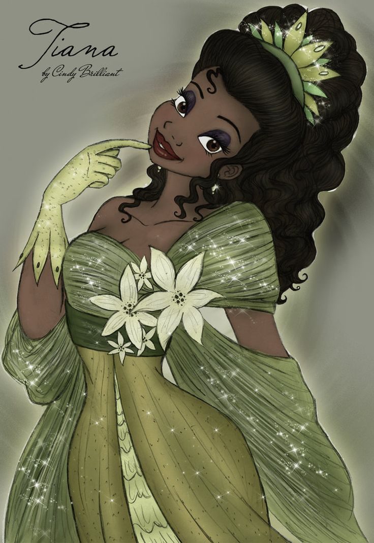 deviantART: More Like Tiana Wedding Concept Sketch by ~papayabanana