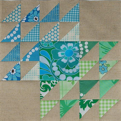 Winged Square Block | by During Quiet Time (Amy)