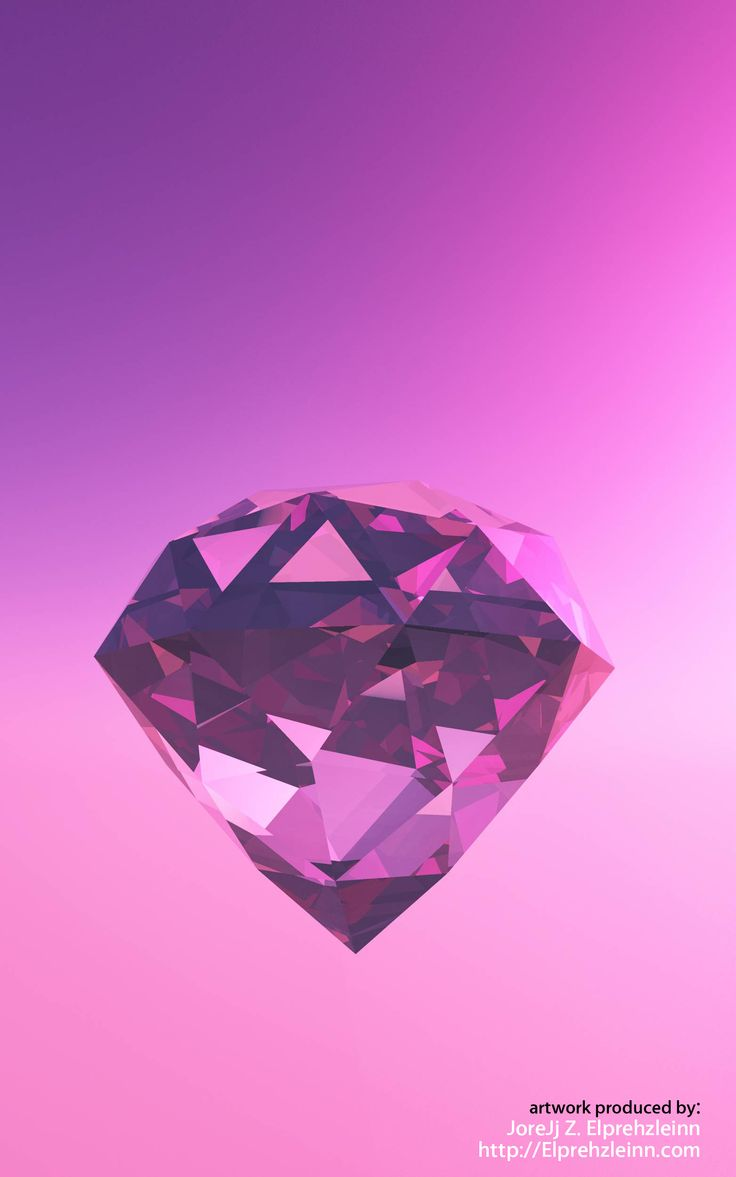 Violet Diamond of Pure Love.