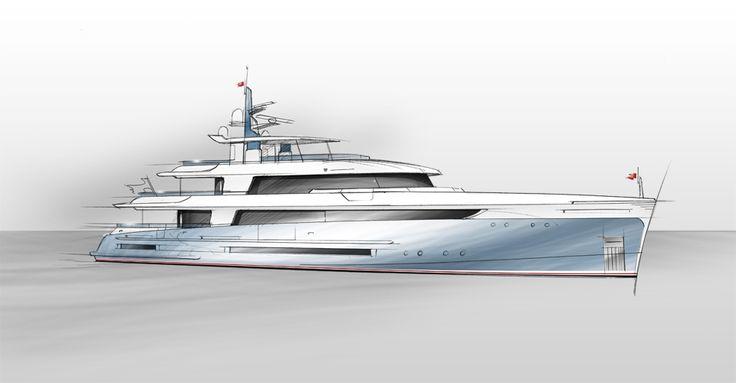 Vestal 4200 Superyacht Images
