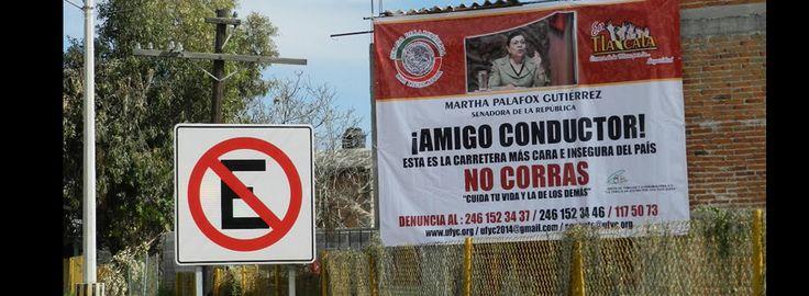 Promueve @SenadoraPalafox seguridad en carreteras de Tlaxcala