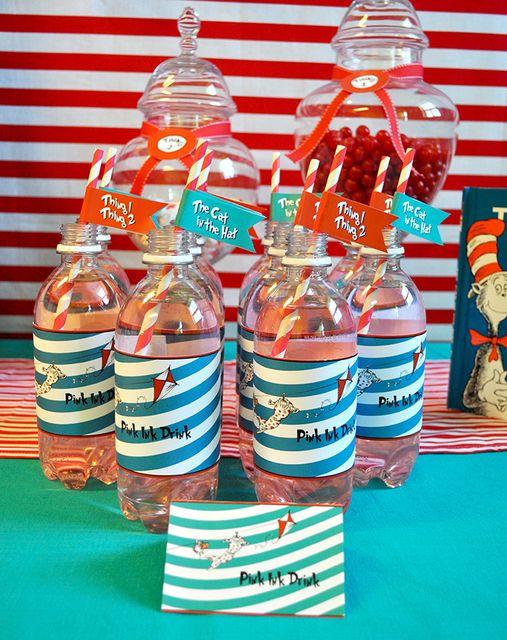 Cute Dr. Seuss drinks #drseuss #drinks