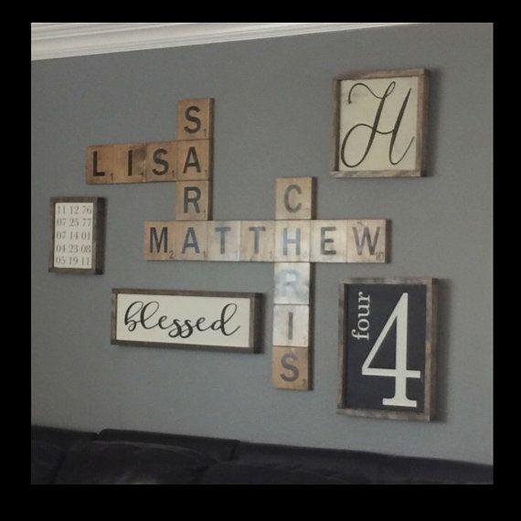 Best 25+ Scrabble wall art ideas on Pinterest | Scrabble ...