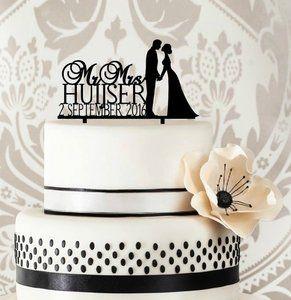 Www.taarttopperdesigns.nl taart cake toppers bruiloft trouwfeest wedding