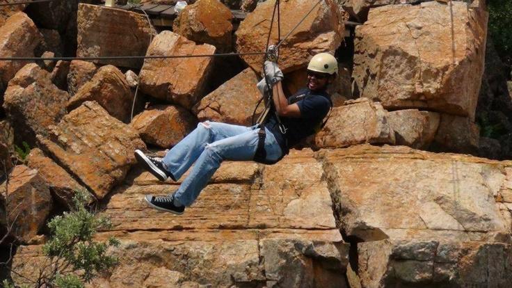 Ziplining in South Africa
