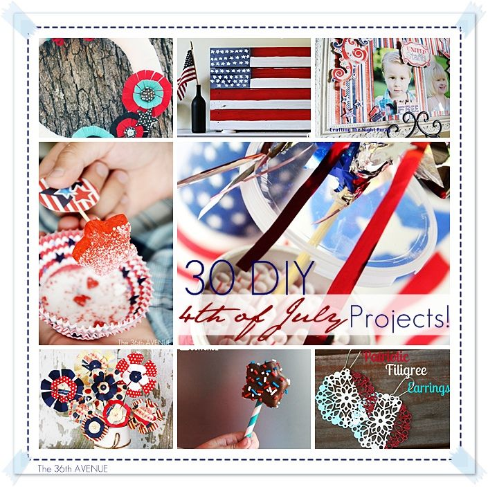 30 DIY 4th of July Projects... Best of the best! #4thofJuly