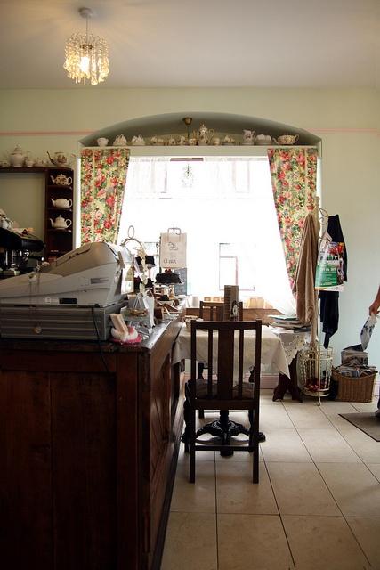 traditional Irish tea room