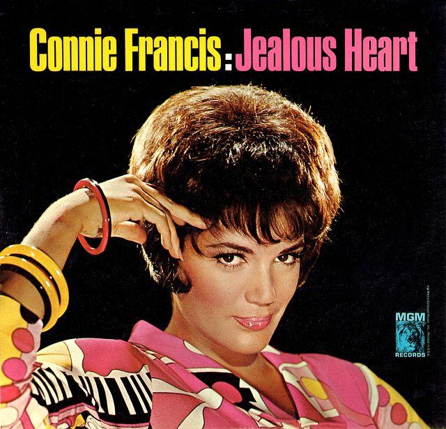Connie Francis Jealous Heart In 2019 Albumhoezen