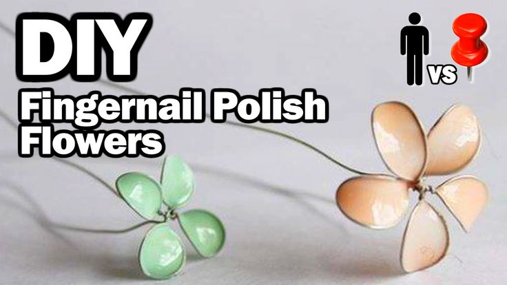 How to actually make those nail polish flowers work! Plus awesome nail polish marbled pots! It's Threadbanger tho, so not for those who mind irreverent humor ;)