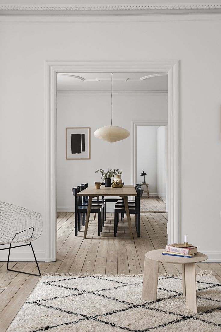Scandinavian home inspiration | Dining room ideas