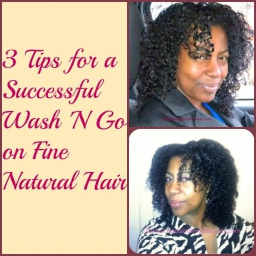 Wash And Go Hairstyles For Fine Hair Glamorous 12 Best Styles For Fine Hair Images On Pinterest  Fine Natural Hair