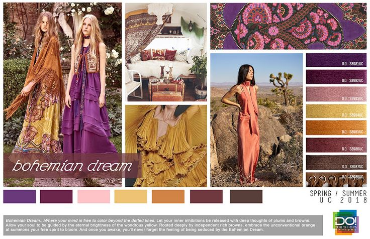 FASHION VIGNETTE: TRENDS // DESIGN OPTIONS - WOMEN'S TRENDS + COLORS . SS 2018
