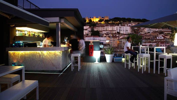 Rooftop bar - Hotel Mundial