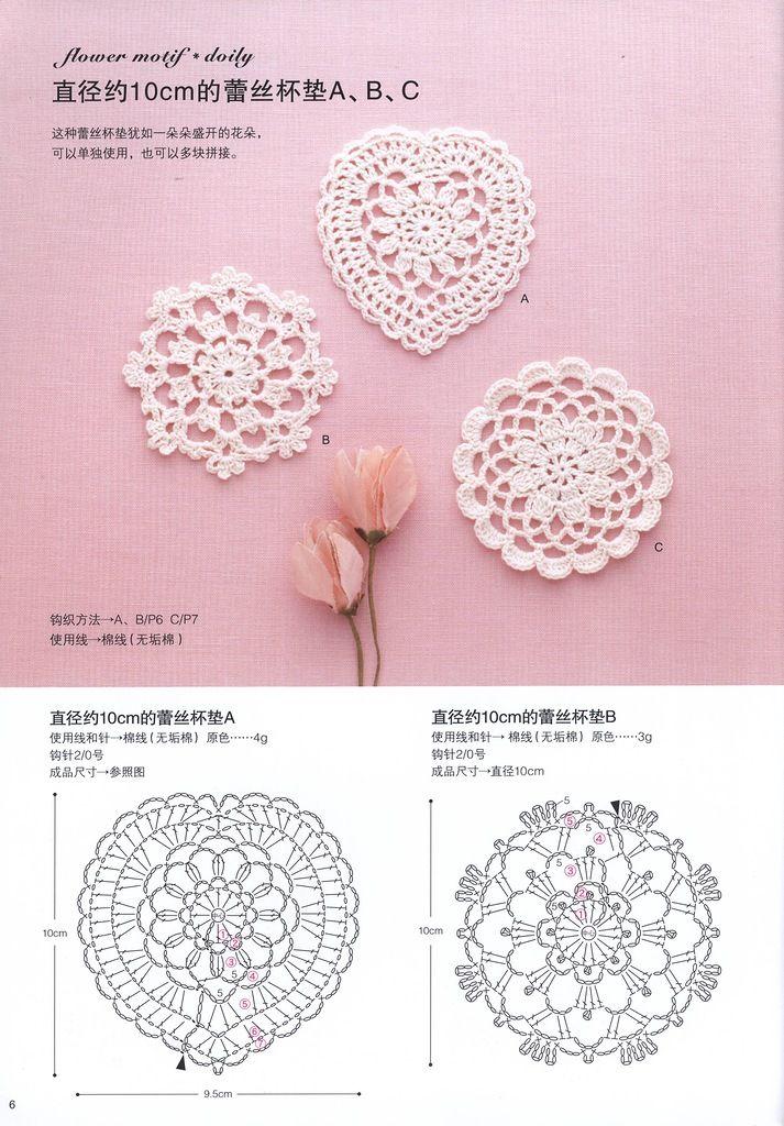 """«Asahi originale del merletto del Crochet Vol4 2013"""" Discussione Silla LiveInternet -. Russo Servizi on-line Diaries"""