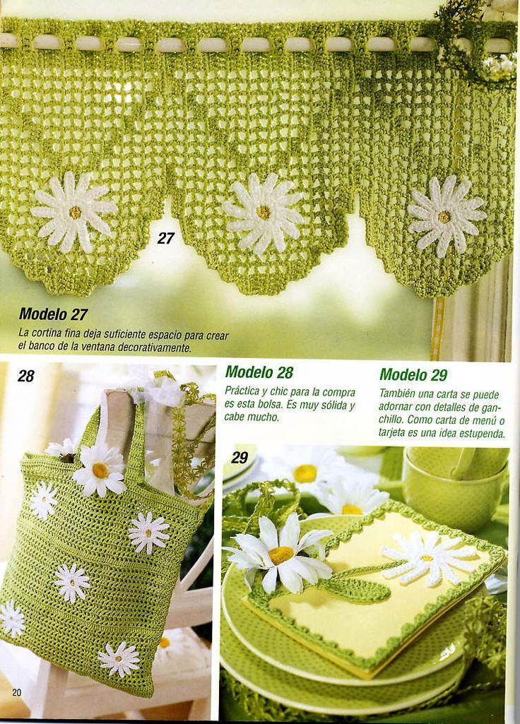 8 mejores im genes de cortinas crochet en pinterest for Cortinas ganchillo