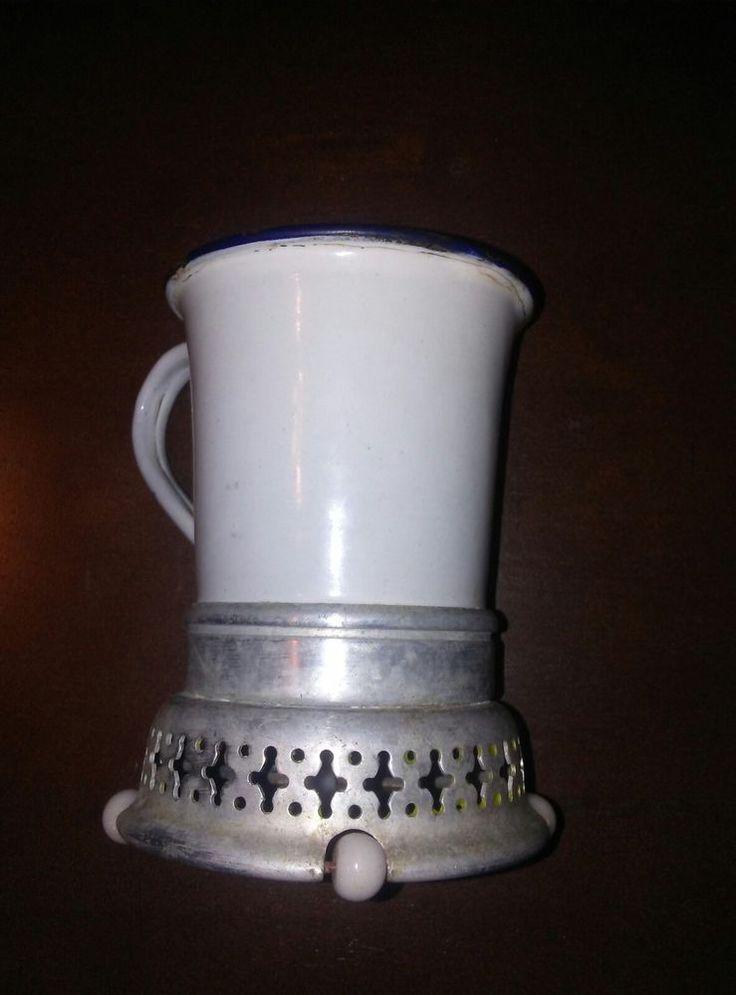 Vintage Gen.Elec.Co. type L- 13 cup warmer or shaving cream warmer