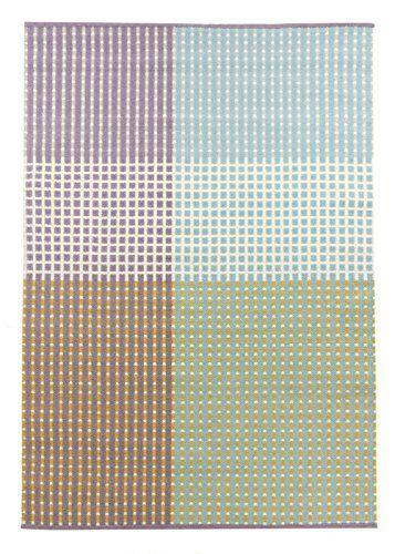 Vallila CM000244-03 Punavuori Teppich, 140 x 200 cm, lila