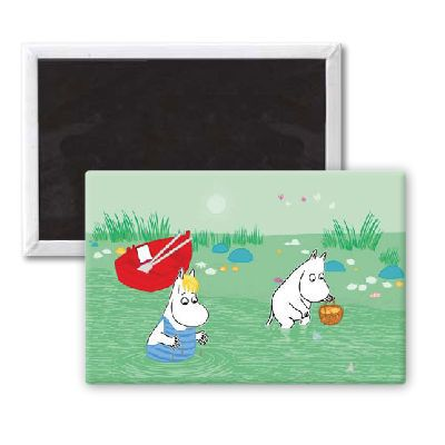 The Moomins Magnet by Tove Jansson   on StarEditions.com - Wholesale Prints and Gifts