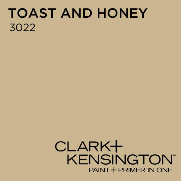 Toast And Honey 3022 By Clark Kensington Paint Color