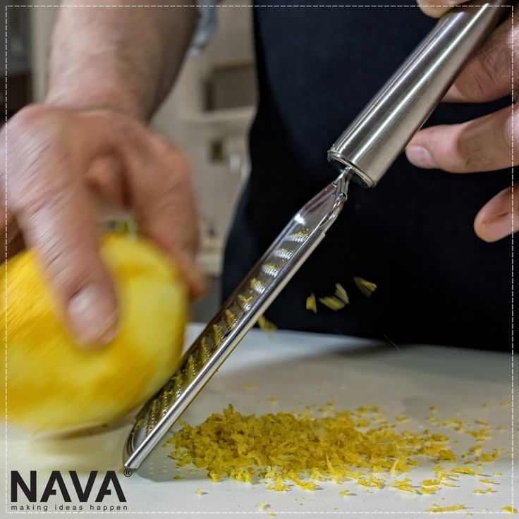 Stainless steel grater! Discover NAVA's kitchen utensils & organize your kitchen!  Related products can be found here → http://bit.ly/2vqOJxt  Related video can be found here → http://bit.ly/2vqeazt  #nava #navaideas #kitchen #kitchenutensils #grater