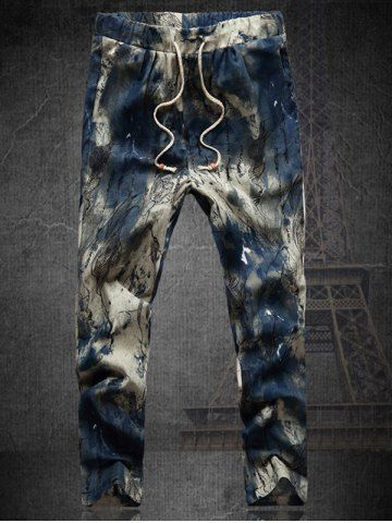GET $50 NOW | Join RoseGal: Get YOUR $50 NOW!http://www.rosegal.com/mens-pants/plus-size-multicolor-lace-up-straight-leg-tie-dyed-nine-minutes-of-pants-for-men-556560.html?seid=7640221rg556560