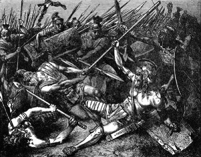 Spartacuksen kuolema