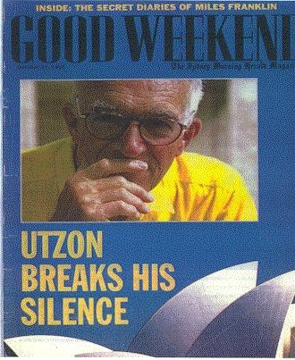 Utzon breaks his silence