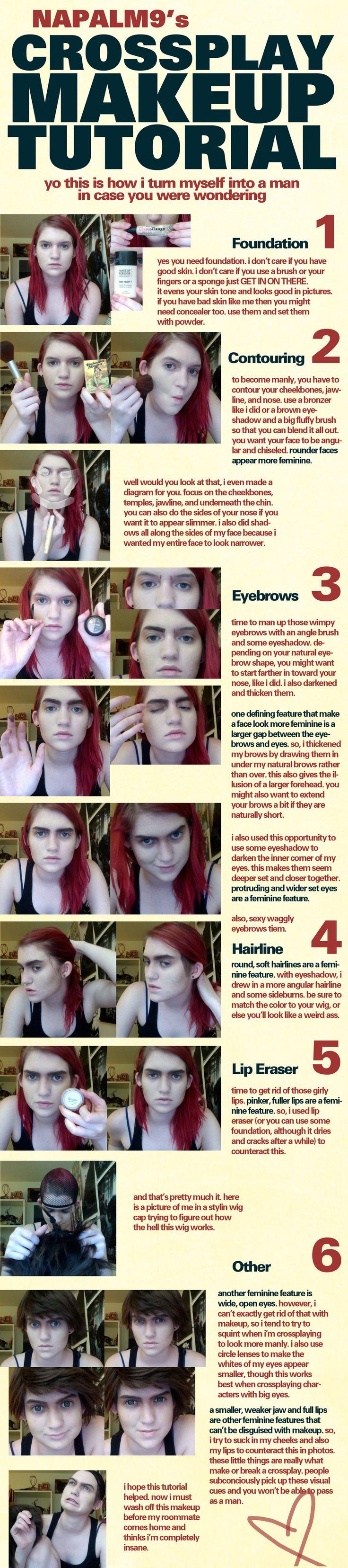 ftm crossplay makeup/tips
