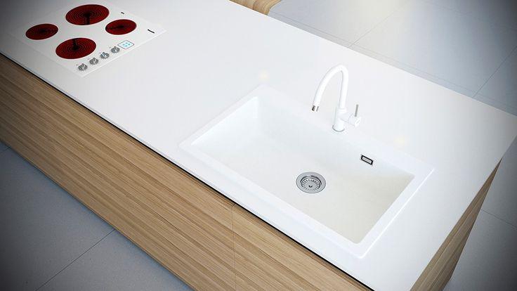 Chiuveta Granit Schock Primus N-100XL Alpina 790 x 500 mm