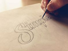 Hand Lettering III by Sean McCabe → more on designvertise.com