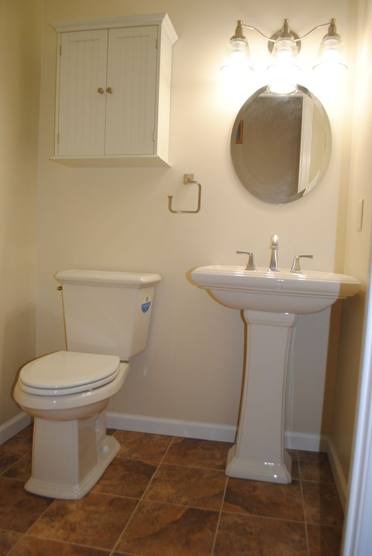 We Converted A Closet To This Half Bath Custom Remodeling